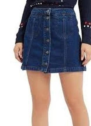 Женская джинсовая юбка на пуговицах немецкого бренда esmara by...