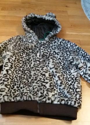 Куртка / Курточка хутро/ Курточка с капишоном