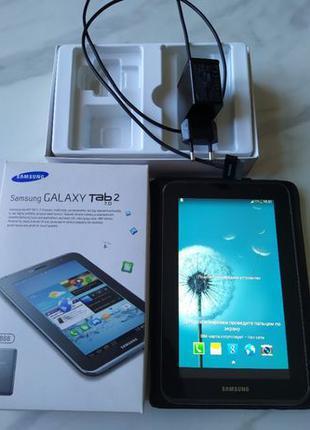 Samsung Galaxy Tab 2 7.0 GT-P3110 8Gb, 3G-телефон,GPS навигато...