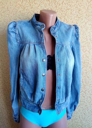 Джинсовая  куртка vero moda xs/s, s