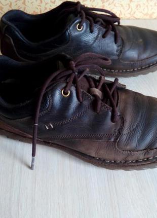 Осенние ботинки-мокасины cat (сaterpillar), 42р.