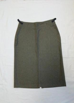 Итальянская юбка из тонкой шерсти, новая 42 р. ( it), m.