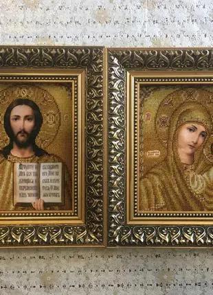венчальные иконы бисером