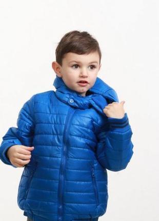 Куртка легкая демисезонная на мальчика minoti англия