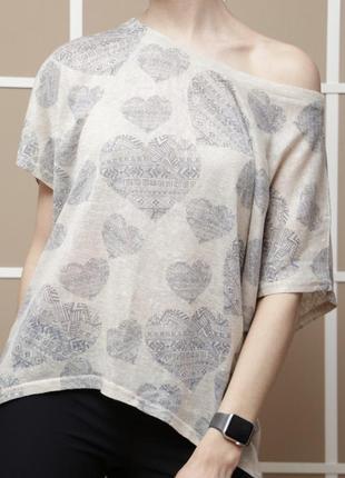 Удлиненная футболка new look