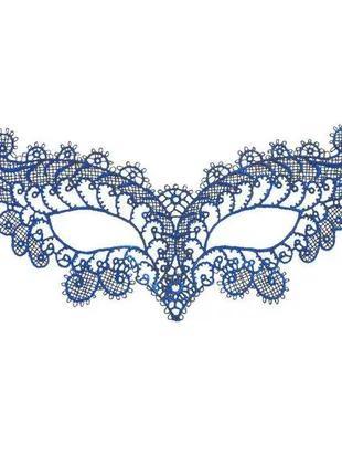 Маска карнавальная из кружева женская 3357-25