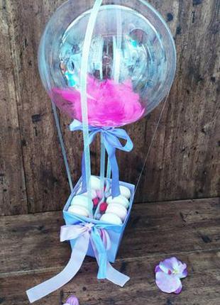 Оригинальный подарок воздушный шар с конфетами