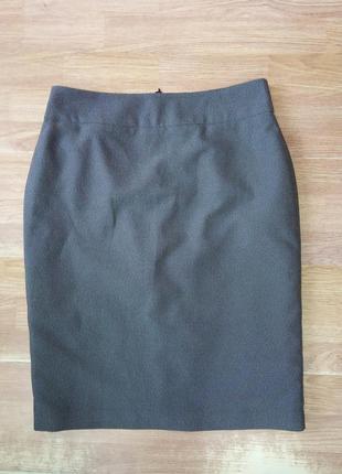 Стильная, брендовая, прямая, офисная юбка