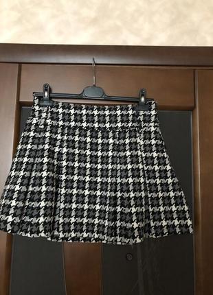 """Демисезонная модная юбка """"гусиная лапка"""" от bel&bo на наш 46. ..."""