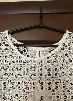 Красивейшая оригинальная блузка накидка от бренда next супер!
