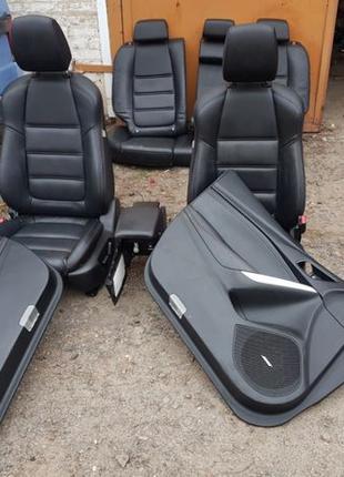 Салон Mazda 6 GJ 2013- 2018 универсал електо кожаный англик