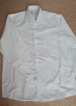 Мужская рубашка белая нарядная