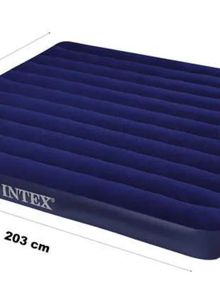Надувной двухспальный матрас Intex