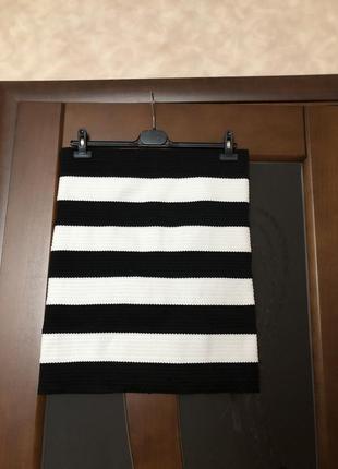 Оригинальная тёплая юбка-карандаш от шведского бренда h&m на н...