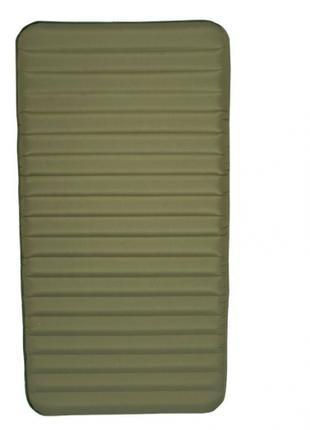 Надувной матрас Intex зеленный