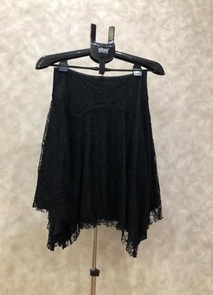 Нарядная гипюровая юбка от new look на наш 44-46. супер!