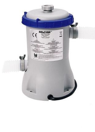 Картриджный фильтр насос Bestway  , мощностью 3 028 лч