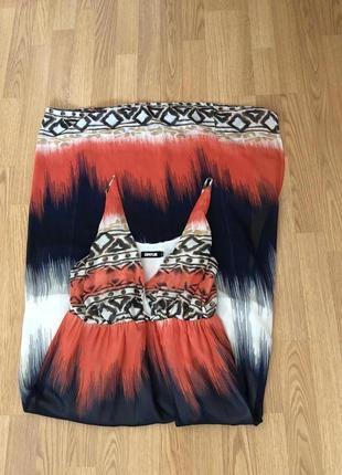 Брендовый шифоновый сарафан-платье от sophyline на наш 44-46. ...
