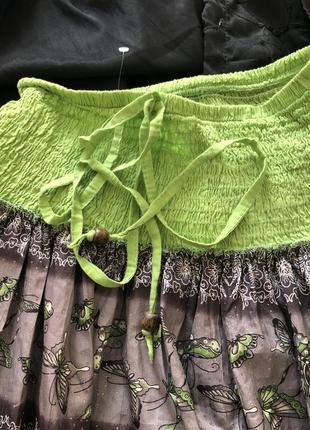 Летняя очень красивая пышная юбка на наш 44-48. супер!