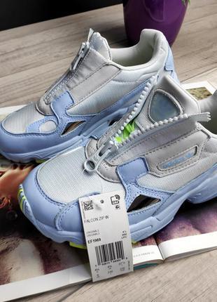 Adidas falcon zip шикарные женские кроссовки адидас фалкон