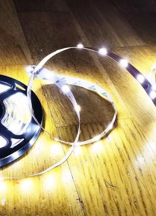 Светодиодная лента + блок питания. LED лента 12v
