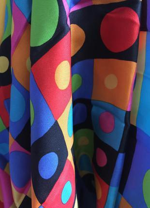 Яркий платок christianfischbacher88*89