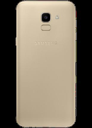 Смартфон Samsung Galaxy J6 SM-J600F Gold (2018) с фирм чехлом