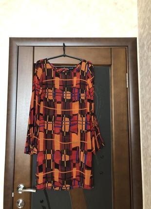 Брендовое красивое шифоновое платье от principles на наш 46. с...