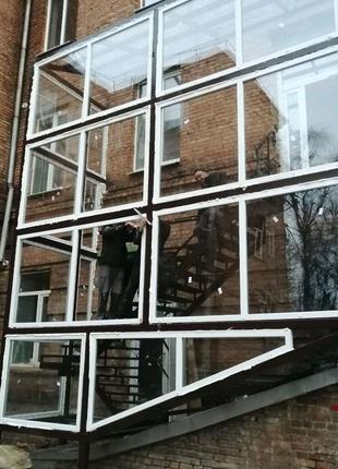 Окна, Установка, Утепление и Обшивка Балконов, Входные Двери!