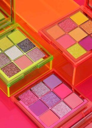 Тени для век Huda Beauty Neon