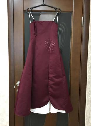Брендовое вечернее платье новое от jora collection xs/ наш 42....