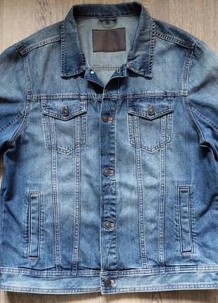 Мужская джинсовая куртка The Denim C&A, размер L
