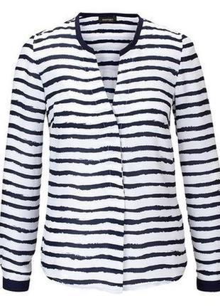 Блуза / рубашка в полоску, легкий шифон /арт. 03