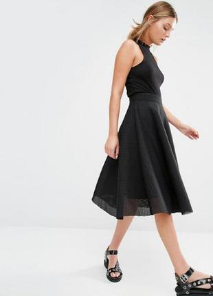 Актуальная пышная юбка сетка new look  14--48-50 размер.