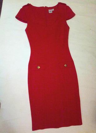 Брендовое красное платье. asos.