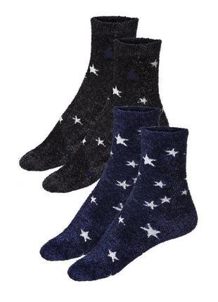 Набор из 2-х пар носков теплых травка женских,германия esmara....