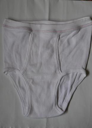 Плавки-труси білі на 48-50  розмір