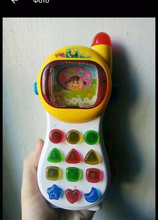 Игрушка умный телефон