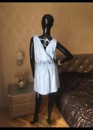 Джинсовое платье. сарафан promod