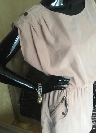 Платье нюдовое