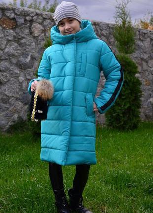 Зимнее пальто для девочек, очень теплое