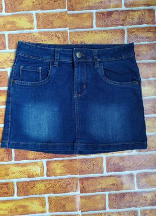 Джинсовая юбка для девушки 152 см рост