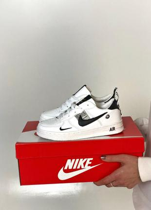 🌼🖤🌼nike air force 1 low white black🌼🖤🌼