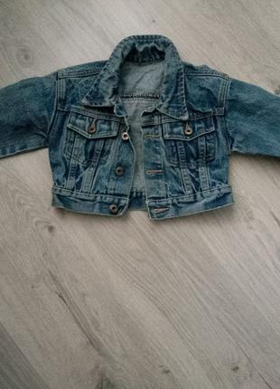 Джинсовая куртка болеро