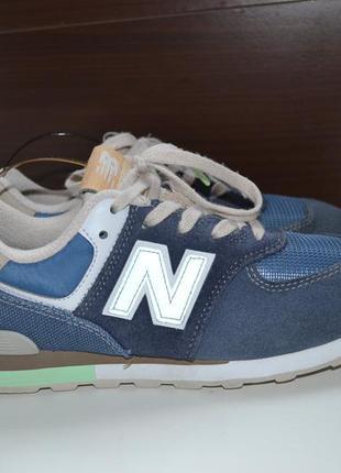 Nb 574 new balance 35р кроссовки кожаные. оригинал.