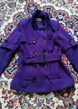 Пальто женское демисезонное, кашемир