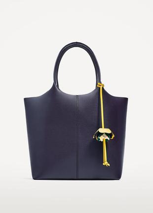 Новая стильная сумка шоппер zara оригинал