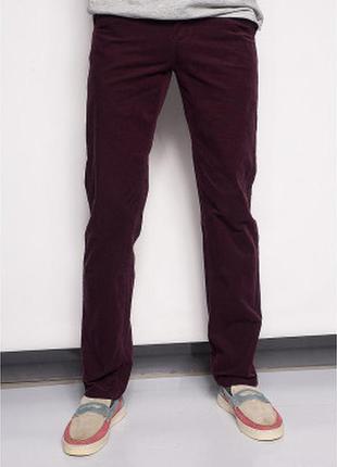 Мужские брюки микровельвет есть размеры