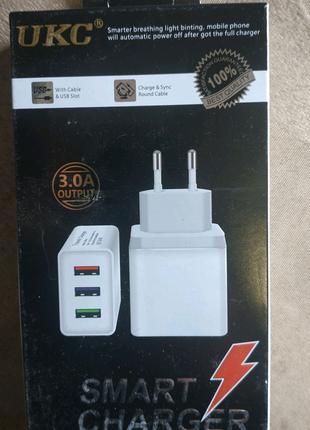 Быстрая зарядка 3 ампера