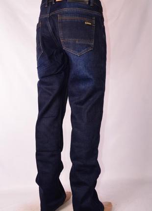 Мужские зимние джинсы на флисе 29-30 и38 размер